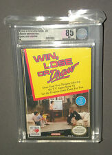 Vintage NES Nintendo Game Win, Lose or Draw Factory Sealed VGA Uncirculated 85