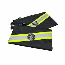 Klein Tools 55599 Tradesman Pro High Visibility Zipper Bags, 2 Pack