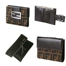 NEW FENDI WALLET IN CLASSIC FF ZUCCA W/ DUST COVER! AUTHENTIC