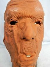 Vintage 1977 Don Post Old Bald Man Rubber Halloween Mask Retro Hollywood Costume