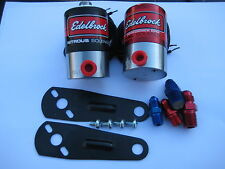 NOS/NITROUS/NX/ZEX/FORD/CHEVY/DODGE/HOLLEY/EDELBROCK N2O+FUEL SOLENOID KIT 400HP