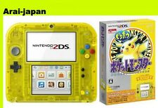 2DS Pokemon Yellow Pikachu console Nintendo Japan center pocket monster