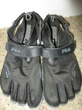 FILA Skeletoes EZ SLIDE WATER Shoes Minimalist Five Finger Shoes Men's Sz 1