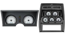 1978-82 Chevy Corvette Silver Alloy & White Dakota Digital VHX Analog Gauge Kit