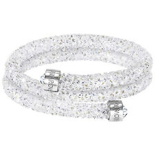Swarovski 5255900 Crystaldust Double Bangle Size S RRP $129