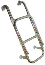 New 4-Step Side/Transom Boat Ladder- Stainless Steel