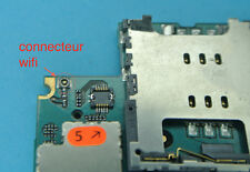Réparation connecteur 6 wifi iphone 3gs 3g soudure repair carte mere motherboard