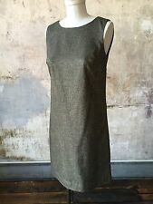 NWT Talbots Donegal Tweed Woven Wool Shift Dress SZ 4 P/ 2 Speckled Jumper $149