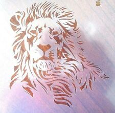 Lion Stencil for Airbrush, Crafting, Art Work, etc.