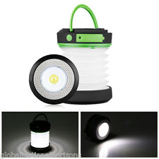 LED Collapsible Camping Lantern Crank USB Rechargeable Outdoor Fishing Tent Lamp