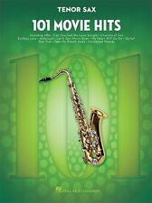 101 Movie Hits For TENOR SAXOPHONE Play Pop Rock Chart Film Songs SAX MUSIC BOOK