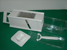 5 in 1 Grater With Storage Container & Peeler, New