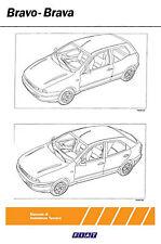 MANUALE OFFICINA FIAT BRAVO BRAVA 1.2-1.6-1.8 16V-1.4 12V-1.9 D-JTD-TD 2.0 20V