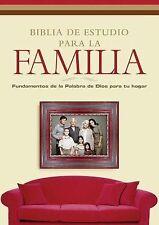Biblia de estudio para la familia: Fundamentos de la Palabra de Dios para tu ho