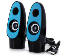 Mini Casse SW-2068 Pc Altoparlanti Audio Speaker Notebook Usb 3d Jack 3,5mm hsb
