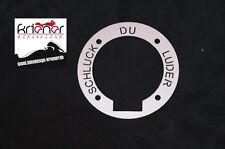 """Tankring Suzuki Bandit """"Schluck Du Luder"""" - mit Ausschnitt"""