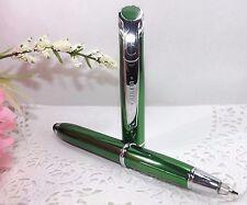 3 in 1 Medina Lighted Tip Green Stylus Pen Flashlight by Adler - HIGH QUALITY