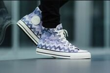 NIB Converse Chuck Taylor All Star High Top Shoe~Missoni~Egret/Multi Sz 10.5