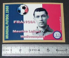 FRANCE MAURICE LAFONT NIMES OLYMPIQUE COUPE MONDE FOOTBALL 1958 STYLE PANINI