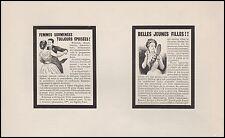 Publicité Fédit  Médicament pour les Femmes  Pharmacie Medecine ad  1899- 10h