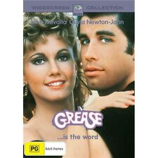 GREASE-Olivia Newton John, John Travolta-Region 4-New AND Sealed