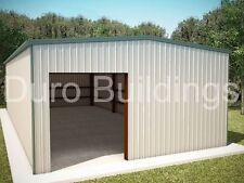 DuroBEAM Steel 40x60x12 Metal Garage Storage Building Auto Salvage Shop DiRECT