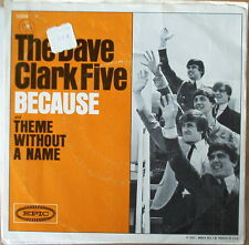 Scarce The Dave Clark Five - Because & Theme Without A Name with PS