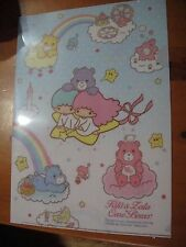 Sanrio Little Twin Stars ×Care Bear collaboration cute A4 file folder  Japan