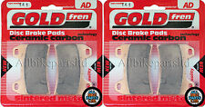 DUCATI MONSTER (996cc) S4R   SINTERED HH FRONT BRAKE PADS (2 pair) *GOLDFREN*