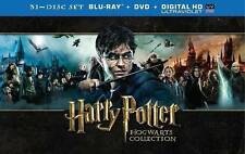 Harry Potter: Hogwarts Collection (Blu-ray/DVD, 2014, 31-Disc Set