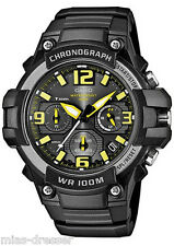 Casio Men's MCW-100H-9A Heavy Duty Chronograph Analog Quartz Watch 100M