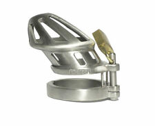 US Mens Gay Stainless Male Chastity Cage Device Belt Restraint Bondage Fetish