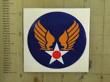 """Vintage Army Air Corps wings sticker decal sign 3"""""""