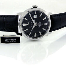 ORIENT MEN JAPAN MADE AUTOMATIC POWER RESERVE SAPPHIRE 41mm LEATHER FFD0J003B0