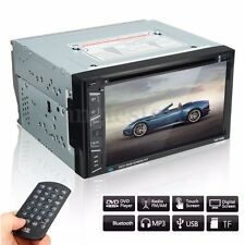 6.5'' HD Touch Screen Double 2DIN Car Bluetooth Stereo MP5 DVD Player FM Radio