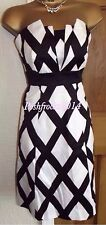 ELEGANT ❤️ COAST BLACK AND WHITE  DRESS SIZE 8 Party Wedding Occasion