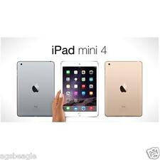 "Apple Ipad Mini 4 Mini4 128gb WiFi 7.9"" Wi-Fi Tablet Brand New Cod Agsbeagle"