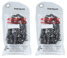 "24"" Chainsaw Saw Chain  PACK OF 2 CHAINS Fits Chinese 62cc 24"" Chainsaw"
