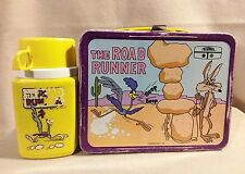 Road Runner Lunch Box with Thermos King Seeley 1970