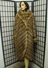 EXCELLENT CANADIAN SABLE FUR COAT JACKET WOMAN WOMEN SIZE 12-14-16 LARGE