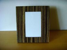 Nuevo - MARCO RECTANGULAR DE FOTOGRAFIA EN MADERA LACADA - New from expo in shop