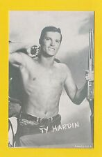 ACTORS - POSTCARD SIZED CARD - WESTERNS / COWBOY FILMS  -  TY  HARDIN