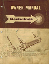 COCKSHUTT PICK-UP SP  COMBINE OWNER'S  MANUAL