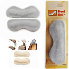 Grey Shoe Heel Liners Self-Adhesive Any Suede Foot Comfort Pads Liner Unisex