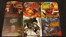 Cannibe 6x CD lot gore grind regurgitate last days of humanity tumour tu carne