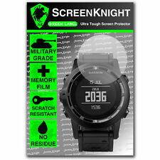 Screenknight Garmin Tactix Protettore Schermo invisibile Grado Militare SCUDO