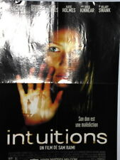 Affiche de Cinéma Poster Intuitions Cate Blanchett Keanu Reeves Katie Holmes