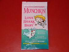 Munchkin Love Shark Baby (1st Printing) - Steve Jackson - Brand New & Unopened