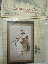 LAVENDER&LACE VICTORIAN DESIGN LOT OF 2-ANGEL OF HOPE&GRACE CROSS STITCH PATTERN