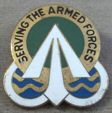US Army Traffic Management Terminal Service Unit Crest Insignia
